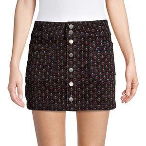 Free People Women's Joani Corduroy Mini Skirt 28